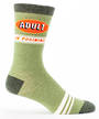 Blue Q Men's Socks - Adult in Training