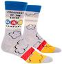 Blue Q Men's Socks - President of the Gas Co.