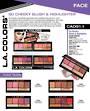 LA Colors - So Cheeky Blush & Highlight Display - 60pcs