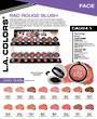 LA Colors - Rad Rouge Blush Display - 144pcs