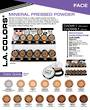 LA Colors - Pressed Powder/Setting Powder Display - 108pcs