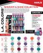 LA Colors - Nail Trend Display - 216pcs