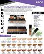LA Colors - Ultimate Cover Concealer Display - 144pcs