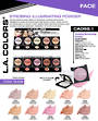 LA Colors - Strobing Powder Display - 90pcs