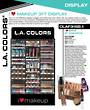 LA Colors I Heart Makeup 3ft Floor Display