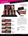 LA Girl Fanatic Blush/Highlighter Palette Display - 24pcs