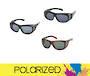 Aspect Polarized Window Frame Sunglasses for Men $39.95