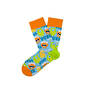 Two Left Feet Kids Socks Monster Mash Medium/Large