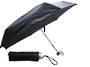 """Accosca Manual Open Super Compact Umbrella 19"""" - Black"""