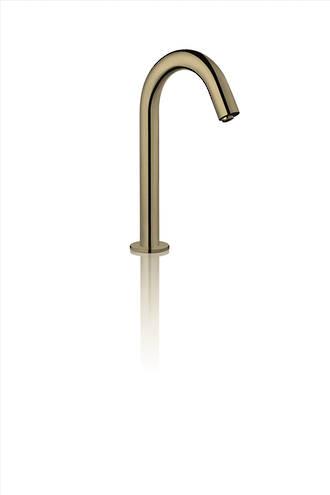 Bench Mount Sensor Tap - Brushed Brass