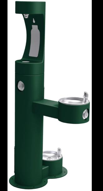 Elkay Bi-Level Bottler Filler with Pet Station