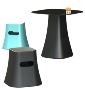 Bandit Stool and Table