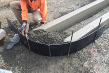 10 mm sheet used for curbing OC1