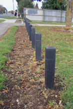 125mm Bollards Takaanini Reserve South Auckland