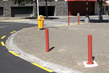 Civic bollards NPDC