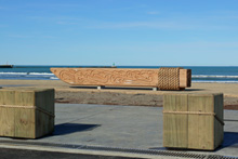 OC Gisborne Boardwalk bollards