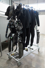 Police Dive Squad diving gear