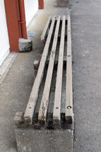 ST Pats College benches before
