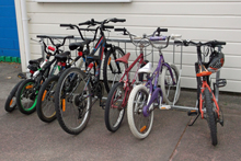 Standard 7-bike Racks atTawhai School