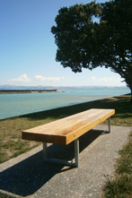 Waterfront Benches Gisborne OC