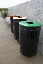 Civic Bins, Manukau Memorial Gardens