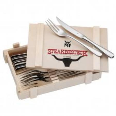 Steak Set 12pce Wooden Box