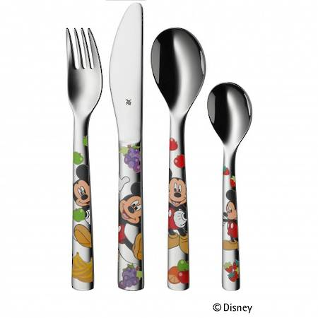 """Mickey Mouse"""" 4pce Childs Cutlery Set"""