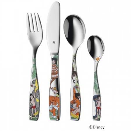 """Jungle Book"" 4pce Childs Cutlery Set"