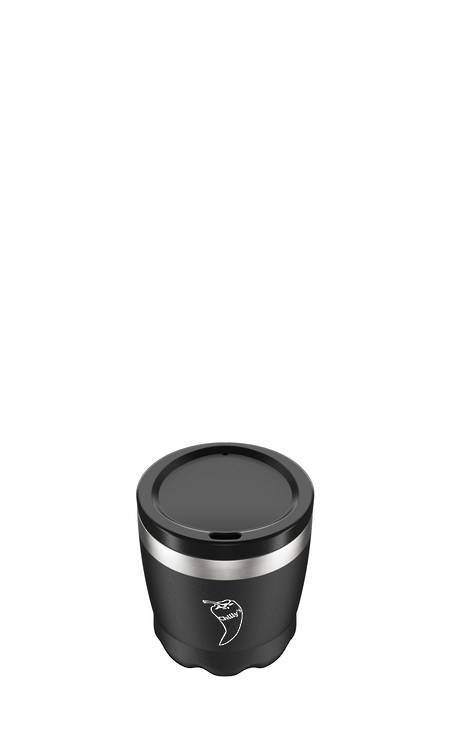 Insulated Coffee Cup Black 230ml  - NEW
