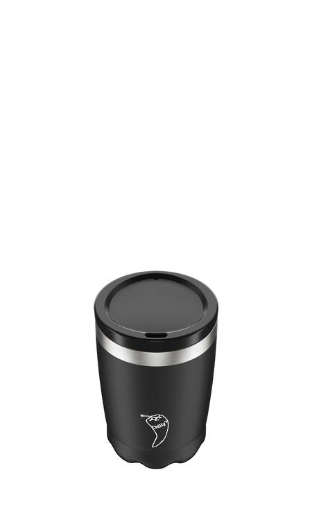 Insulated Coffee Cup Black 340ml  - NEW