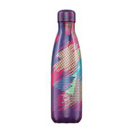 Insulated Bottle Abstract Pink 500ml
