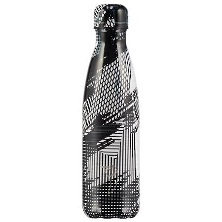 Insulated Bottle Abstract Black 500ml