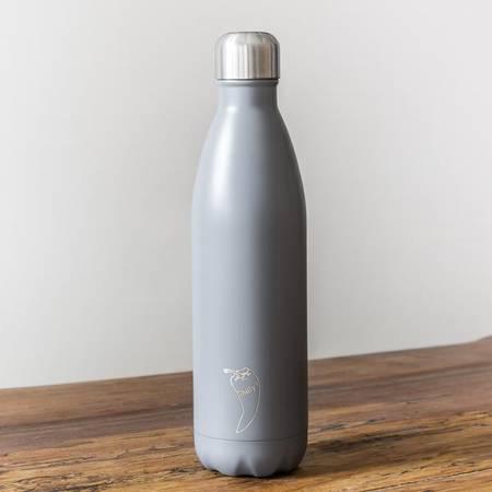 Insulated Bottle Matte Grey 750ml