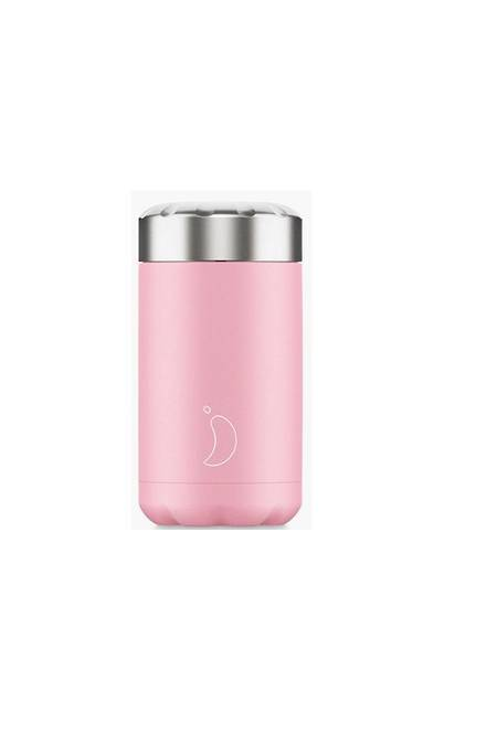 Insulated Food Pot 500ml Pastel Pink - NEW