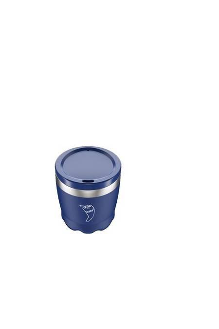 Insulated Coffee Cup Matt Blue 230ml