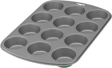 Kaiser Ever Green Muffin Pan 12 Cup - Superbuy!!