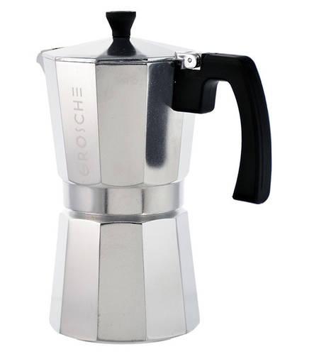 Milano Stovetop Espresso Silver 9 Cup