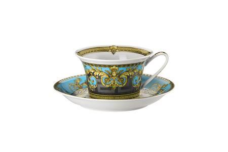Bleu Tea Cup & Saucer 14640