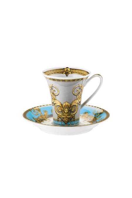 Bleu Espresso Cup & Saucer 14720