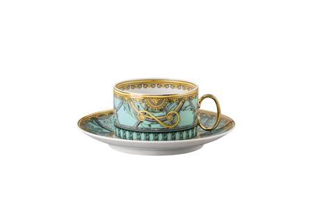 Verde Tea Cup & Saucer 4 Low - 14640