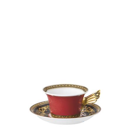Cup & Saucer 4 Low 14640