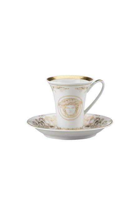 Gold Espresso Cup & Saucer 14720