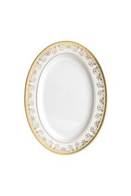 Platter 34cm Gold 12734