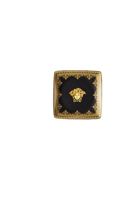 Nero Square Dish 12cm Flat - 15253