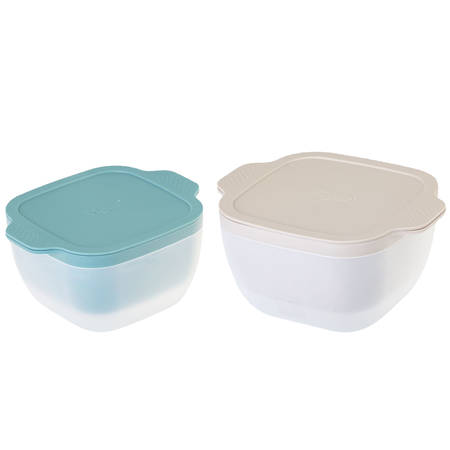 Homey Salad Bowl/Colander Set 1.5ltr, 4.5ltr - NEW