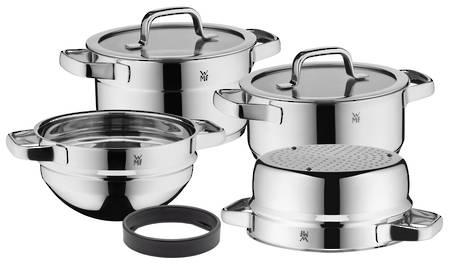 Compact Cuisine Cookware Set Stackable 4 Piece