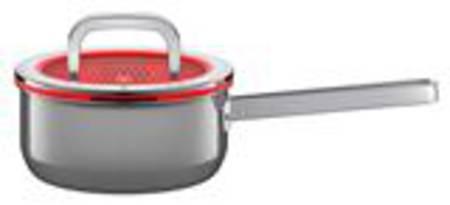 Saucepan with Lid 16cm 1.3ltr - Platinum