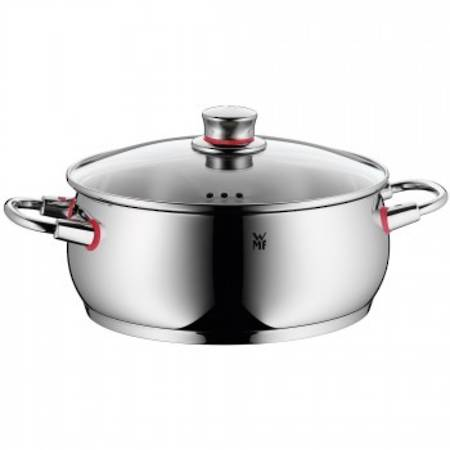 Low Casserole with Lid 24cm 4.8ltr