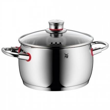 High Casserole with Lid 20cm 4ltr