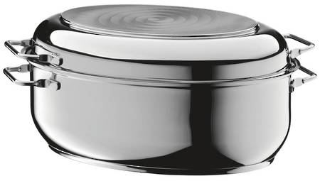 Roasting Pan Oval 2 in 1, 38x22.5cm